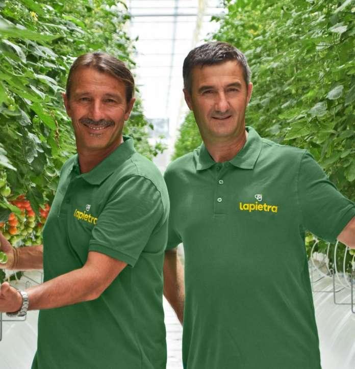 I fratelli Enzo e Lino Lapietra, titolari dell'azienda agricola omonima