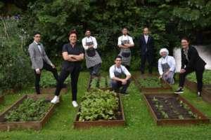 Il team del ristorante Gardenia guidato da Mariangela Suigan