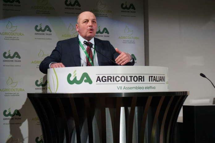 Dino Scanavino, presidente nazionale di Cia-Agricoltori Italiani