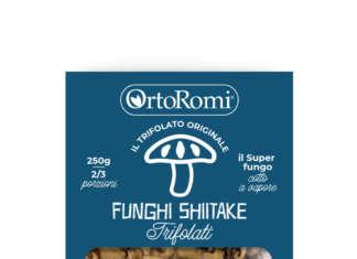 Funghi shiitake a marchio OrtoRomi