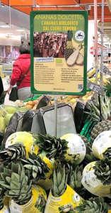 Attività promozionale di Ananas Dolcetto nei punti di vendita