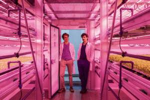 I co-fondatori di Agricola Moderna, Pierluigi Giuliani e Benjamin Franchetti