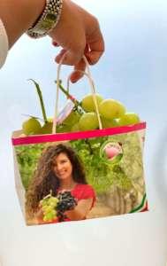 Il nuovo pack, Ci metto la faccia, di Lonigro per l'uva da tavola