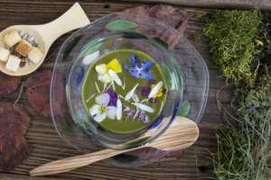 La leggerezza dei piatti vegetali dello che Galliano