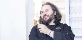 Lo chef del ristorante Euthalia Gian Michele Galliano