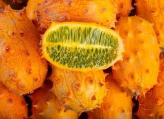 Il kiwano, detto anche melone africano, è un frutto esotico