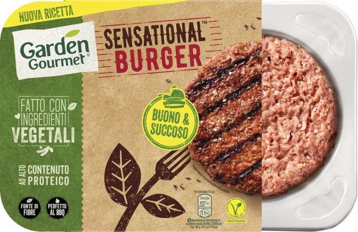 Sensational Burger di Garden Gourmet