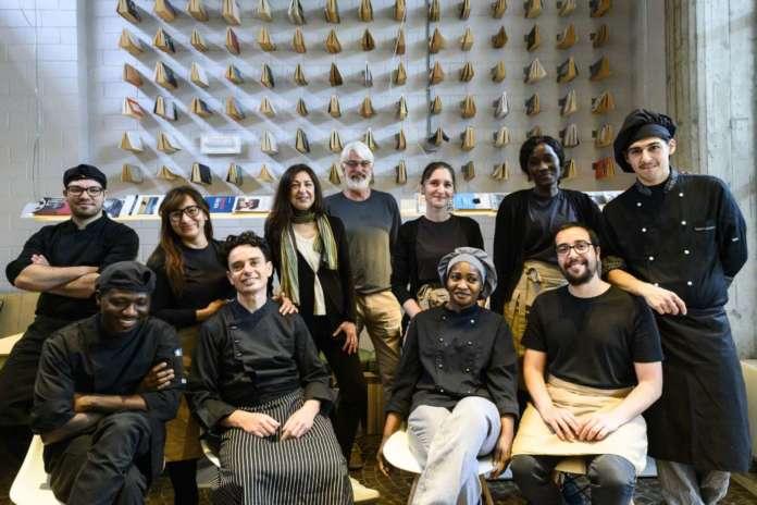 Il team del ristorante Fiore di Lecco