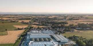 Lo stabilimento di Euro Company, azienda romagnola