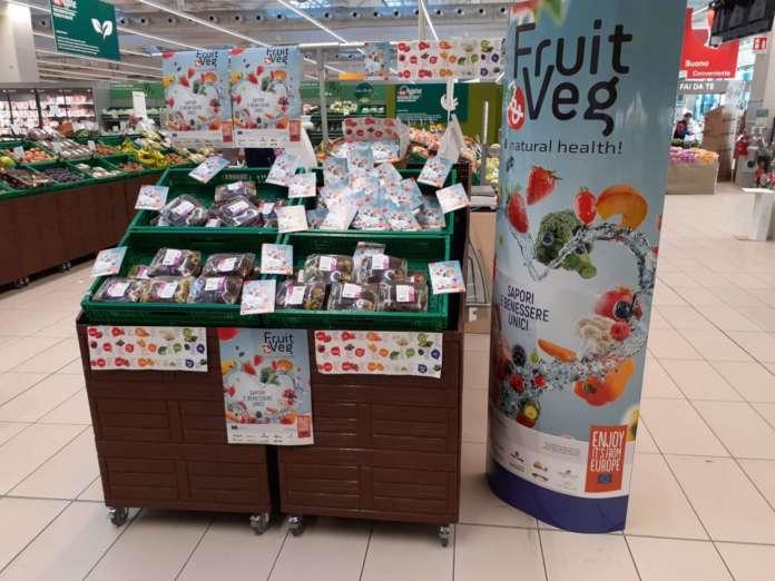 Fruit & Veg: Natural Health!, il progetto del Gruppo Vi.Va, ha avuto 532 giornate promozionali nei punti di vendita