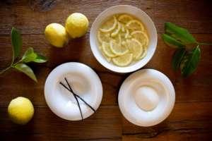 Preparazione della Marmellata di Limoni dell'Etna Igp, un piatto dello chef Raciti