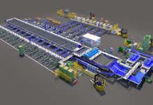 Progetto Icoel in 3d per un nuovo impianto dedicato al kiwi