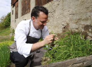 Lo chef una stella Michelin Theodor Falser