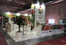 Lo stand (Hall3 / A026) di I love fruit&veg from Europe a Cibus