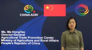 Ma Hongtao, direttore generale Atpc (Agricultural Trade Promotion Center