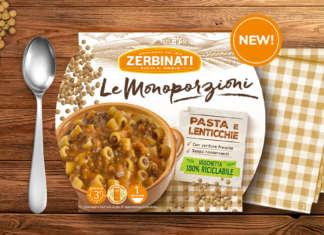 Pasta e Lenticchie Zerbinati Monoporzioni
