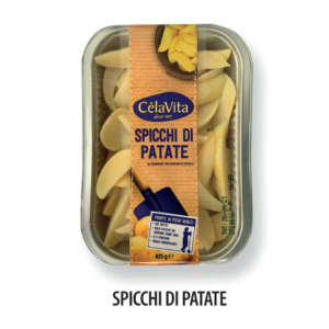 Spicchi di patate al naturale a marchio CêlaVíta