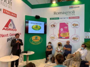 Giulio Romagnoli a Macfrut 2021