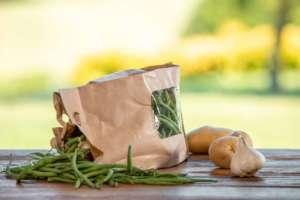 Fagiolini con packaging Inkarta