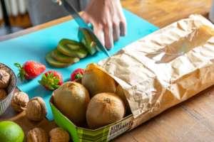 Kiwi con packaging Inkarta