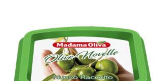 Olive Novelle Madama Oliva in vaschetta da 250 gr