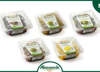 La nuova gamma di olive e lupini di Almaverde bio, disponibile in gdo